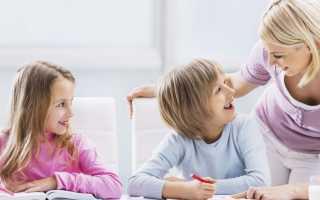 Правила этикета для детей
