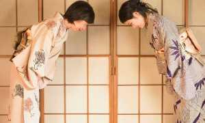 Тонкости национального этикета в Японии