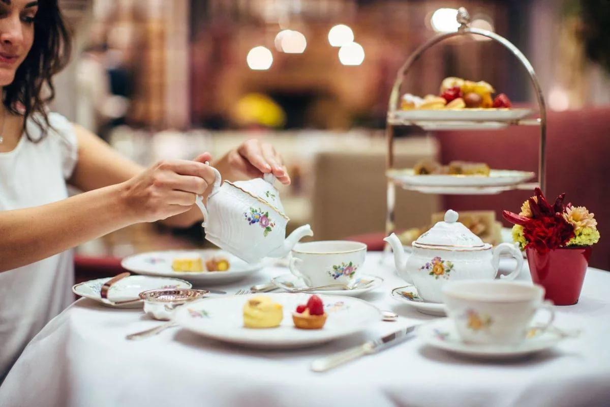 Чай и десерты