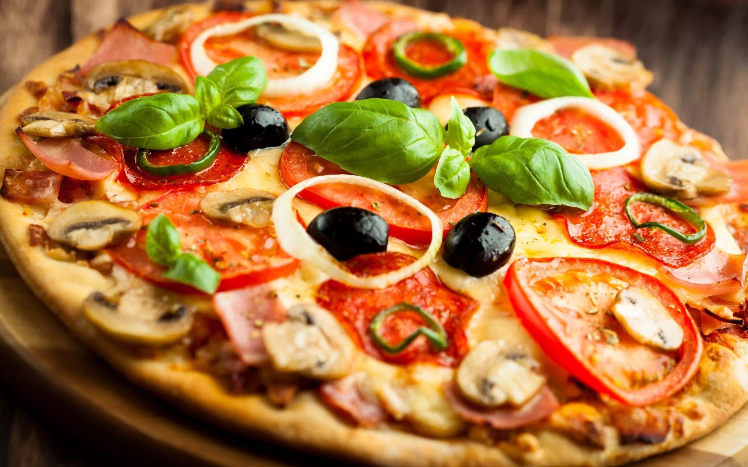Сочная пицца