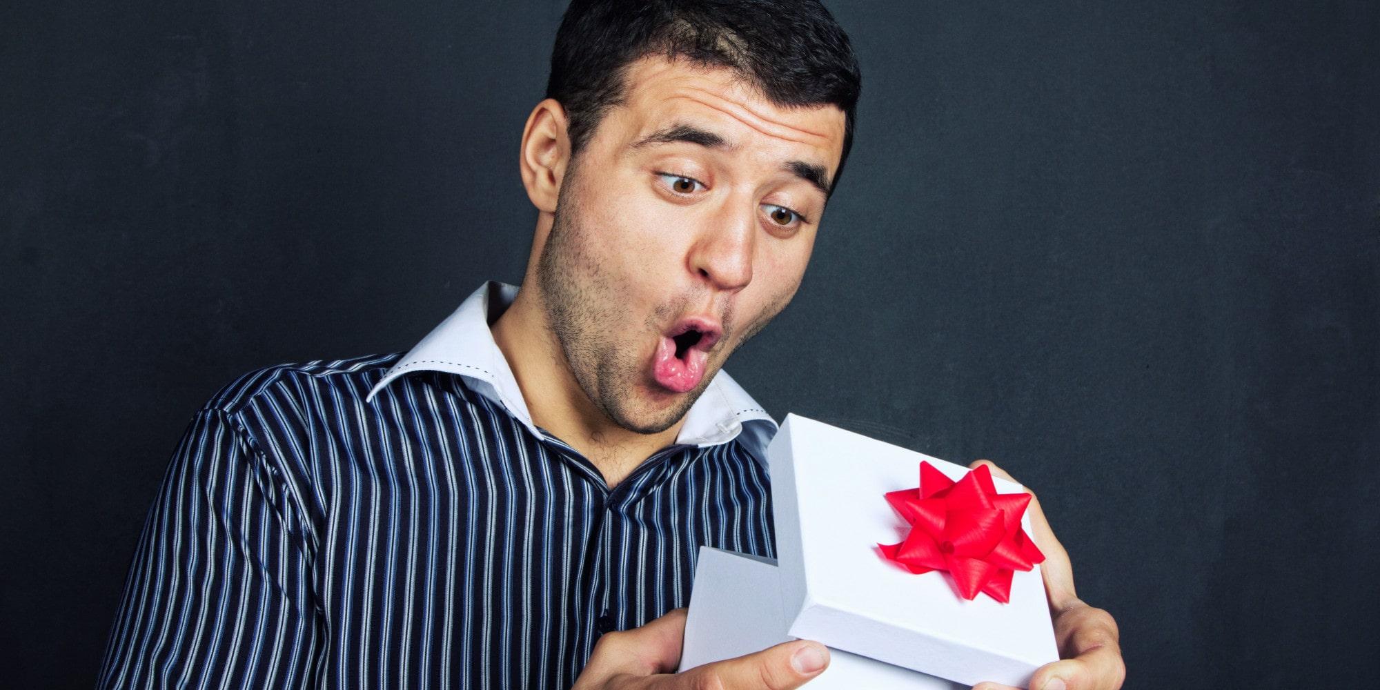 Получение подарка
